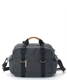 Qwstion Qwstion Bag Overnighter washed black
