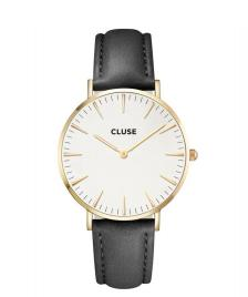 Cluse Cluse Watch La Boheme black/white gold
