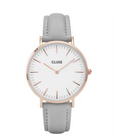Cluse Cluse Watch La Boheme grey/white rose gold