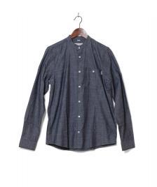 Carhartt WIP Carhartt WIP Shirt Robert blue indigo rinsed