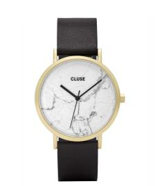 Cluse Cluse Watch La Roche black/white marble gold