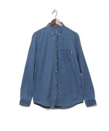 Carhartt WIP Carhartt Shirt Civil blue stone washed