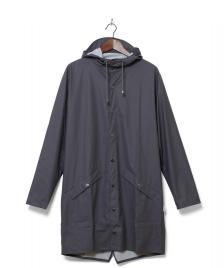 Rains Rains Rainjacket Long grey smoke