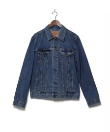 Levis Levis Denimjacket The Trucker blue med stone wash