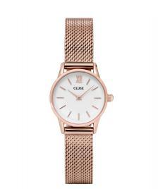 Cluse Cluse Watch La Vedette Mesh rosegold/white