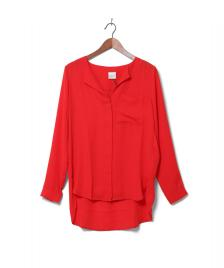 Selected Femme Selected Femme Shirt Sfdynella red flame scarlet