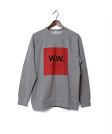 Wood Wood Wood Wood Sweater Hester grey melange