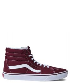 Vans Vans Shoes Sk8-Hi red port royale