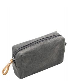 Qwstion Qwstion Amenity Pouch organic washed grey