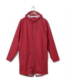 Rains Rains Rainjacket Long red scarlet
