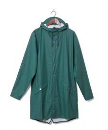 Rains Rains Rainjacket Long green dark teal