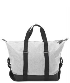 Qwstion Qwstion Bag Simple Holdall raw blend leather canvas