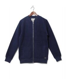 Revolution (RVLT) Revolution Zip Sweater 2531 blue darknavy