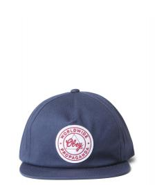 Obey Obey Snap Cap Paramount blue navy