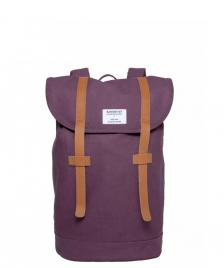Sandqvist Sandqvist Backpack Stig Mini red plum
