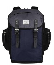Sandqvist Sandqvist Backpack Lars-Göran black/blue/grey/multi