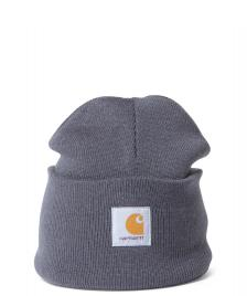 Carhartt WIP Carhartt Beanie Acrylic Watch Hat grey blacksmith