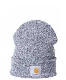 Carhartt WIP Carhartt WIP Beanie Scott Watch grey dark navy-wax