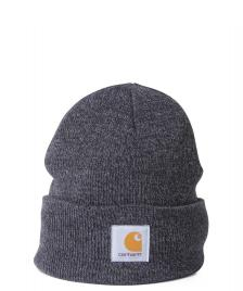 Carhartt WIP Carhartt Beanie Scott Watch grey dark heather-black