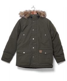Carhartt WIP Carhartt WIP Winterjacket Trapper Parka green cypress/black