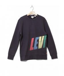 Levis Levis Sweater Graphic SSNL Logo black dark phan