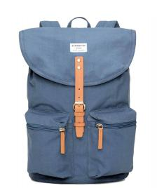 Sandqvist Sandqvist Backpack Roald blue dusty