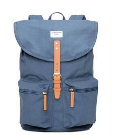 Sandqvist Sandqvist Backpack Roald blue dusty