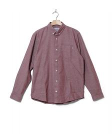 Carhartt WIP Carhartt Shirt Dalton red sandy rose heavy rinsed