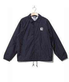 Carhartt WIP Carhartt WIP Jacket Sports Coach blue dark navy/wax