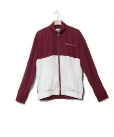 Wood Wood Wood Wood Jacket Homer red dark/off-white