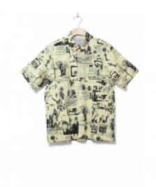 Carhartt WIP Carhartt Shirt Safari yellow safari print