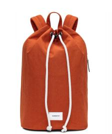 Sandqvist Sandqvist Backpack Evert orange rust