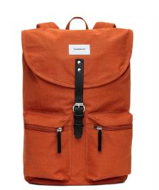 Sandqvist Sandqvist Backpack Roald orange rust