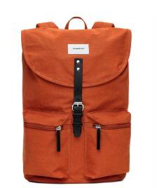 Sandqvist Sandqvist Backpack Roald orange rust