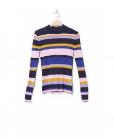 MbyM MbyM W Knit Pullover Rica pink multi stripe