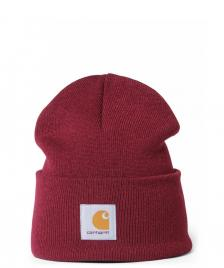 Carhartt WIP Carhartt WIP Beanie Acrylic Watch Hat red mulberry