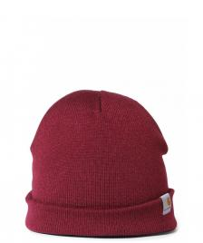 Carhartt WIP Carhartt Beanie Stratus Hat Low red mulberry