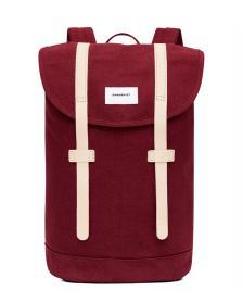 Sandqvist Sandqvist Backpack Stig red burgundy