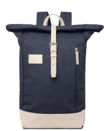 Sandqvist Sandqvist Backpack Dante Grand blue/natural leather