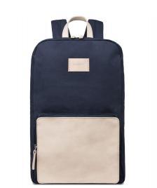Sandqvist Sandqvist Backpack Kim Grand blue/natural leather