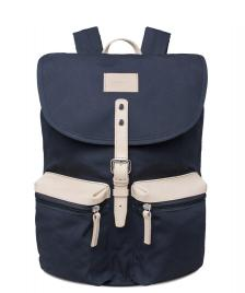 Sandqvist Sandqvist Backpack Roald Grand blue/natural leather