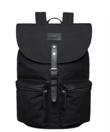 Sandqvist Sandqvist Backpack Roald Grand black/black leather