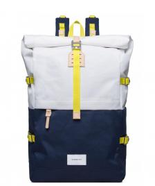 Sandqvist Sandqvist Backpack Bernt blue/multi white off