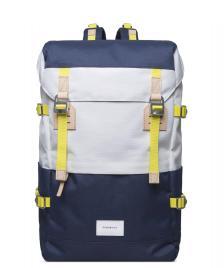 Sandqvist Sandqvist Backpack Harald blue/multi white off