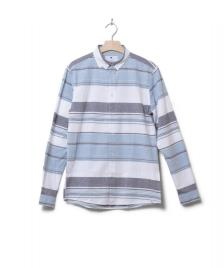 Revolution (RVLT) Revolution Shirt Striped 3714 blue
