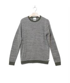 Klitmoller Collective Klitmoller Knit Pullover Mik green/light grey olive