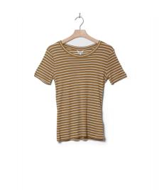 MbyM MbyM W T-Shirt Samira beige dijon sugar stripe