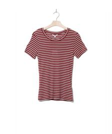 MbyM MbyM W T-Shirt Samira red fired sugar stripe