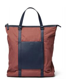 Sandqvist Sandqvist Backpack Marta red maroon/navy leather