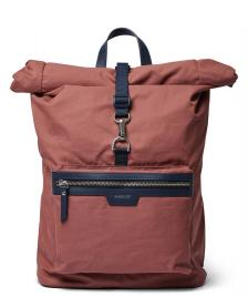 Sandqvist Sandqvist Backpack Siv red maroon/navy leather